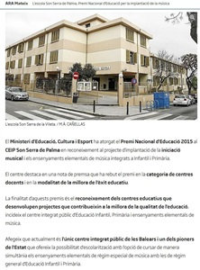 CEIP Son Serra noticia